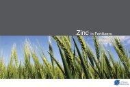 Zinc in Fertilizers - International Zinc Association