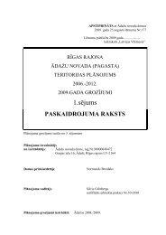 1.sējums - Rīgas Plānošanas Reģions