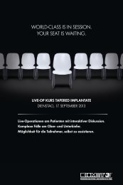 WOrLD-CLass is in sessiOn. YOUr seat is Waiting. - inside.biomet3i ...