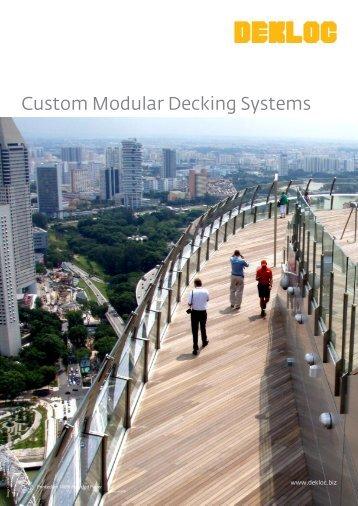 Custom Modular Decking Systems - Venturer