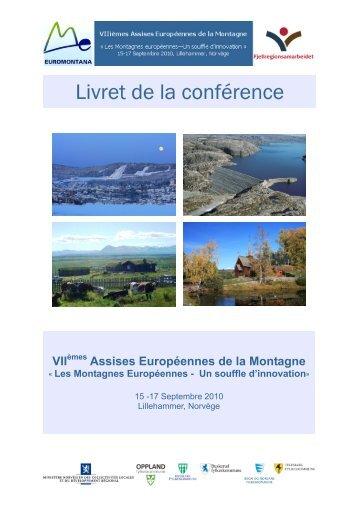 Les Montagnes Européennes - Un souffle d'innovation - Euromontana
