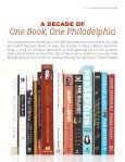 One Book, One Philadelphia celebrates 10 years - Free Library of ... - Page 6