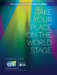 2013 International CES® EXHIBIT PLANNER
