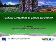 Politique européenne de gestion des déchets - GD MAROC