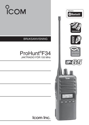 ProHunt®F34 (Manual) - VHF Group AS