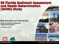 Southeast Florida Sediment Assessment and Needs ... - fsbpa