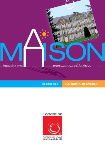 Livret Jacob Bellecombette - Fondation Caisses d'Epargne pour la ...