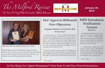 The Milford Review - Milford LIVE!