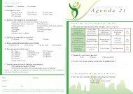 Questionnaire Agenda 21 - Ville d'Oullins