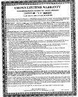 Crown Cabo_2 CWD220 Warranty - Page 2
