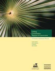 Linking Communities, Tourism & Conservation