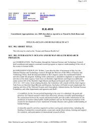 H.R.4818 - The Oceans and Human Health Initiative - NOAA