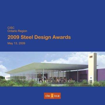 2009 Steel Design Awards - CISC-ICCA