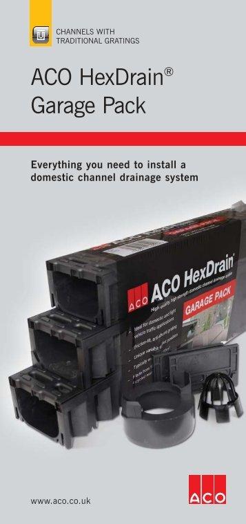 HexDrain Garage Pack - Aco
