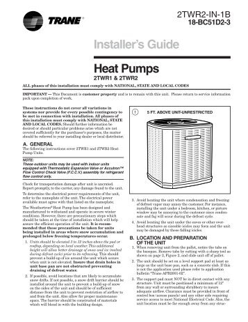 2TWR2_Install Guide.pdf - HVAC.Amickracing