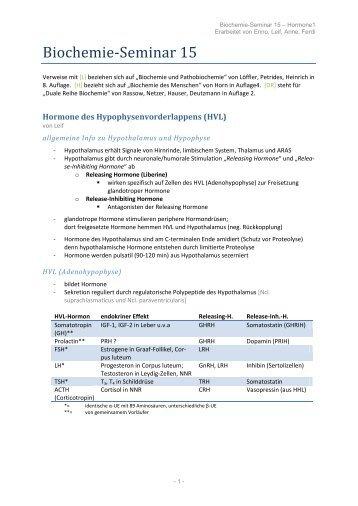 Biochemie-Seminar 15 - wilmnet.de