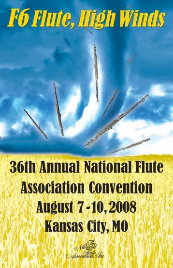 2008 Convention Program Book - National Flute Association