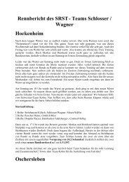 Rennbericht 2006 - MCB