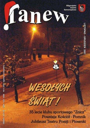 czyli 25 - lecie Teatru Poezji i Piosenki. 8 grudnia 2007 - Biłgorajskie ...