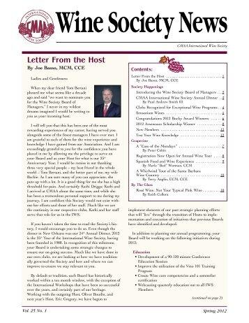 Spring (PDF) - CMAA