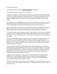 FOR IMMEDIATE RELEASE Media Contact: Amber ... - Phillip Dutton