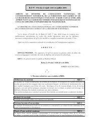 Diplôme Univesitaire de Technologie - Ministère de l'Enseignement ...