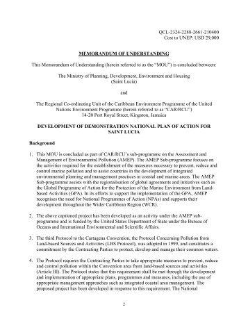 Appendices 1-9.pdf - Caribbean Environment Programme - UNEP