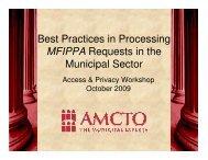 MFIPPA - Verney Conference Management