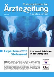Experten Statement Protheseninfektionen in der Orthopädie