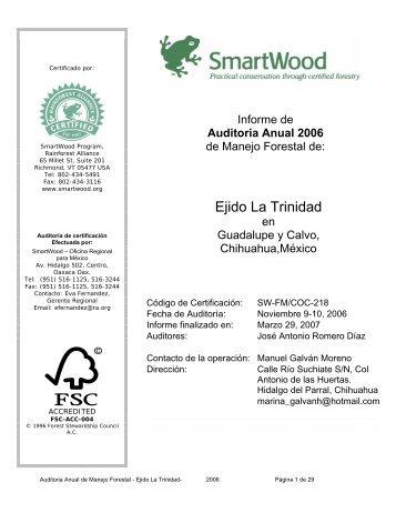 Ejido La Trinidad - Rainforest Alliance