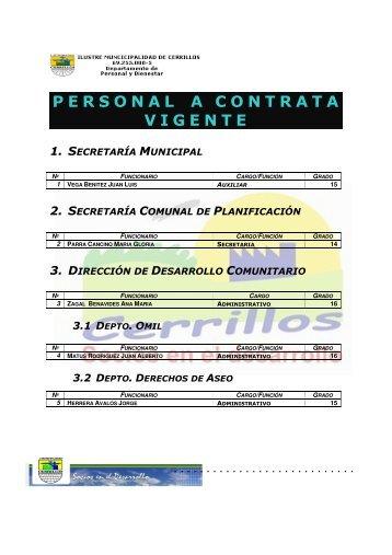 2009 - I. Municipalidad de Cerrillos