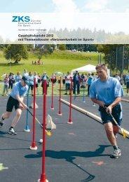 ZKS Geschäftsbericht 2012