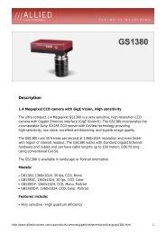 GS1380 Data Sheet - Covistech.com