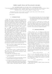 Infinite ergodic theory and Non-extensive entropies.