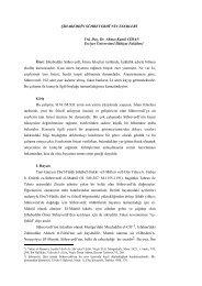 Şihabeddin Sühreverdî'nin Eserleri - Erciyes Üniversitesi