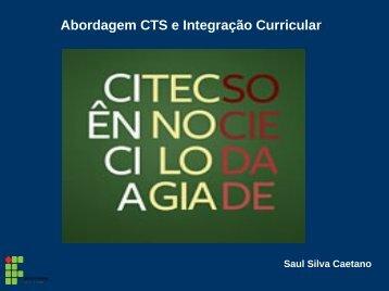 Abordagem CTS e Integração Curricular - Wiki