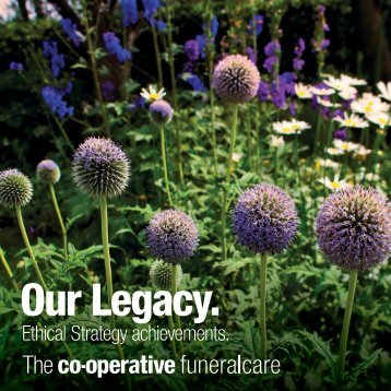 Ethical Strategy achievements. - The Co-operative