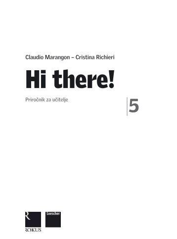 Hi there! 5 - priročnik za učitelja