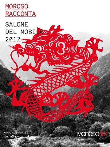 MOROSO RACCONTA SALONE DEL MOBILE 2012 - coBuilder