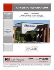 Offering Memorandum - Property Line