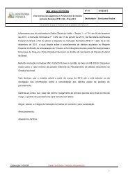 MIX LEGAL EXPRESS 1 Informamos que foi publicada ... - Fecomercio