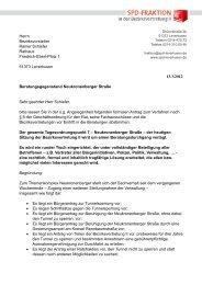 Antrag zur Neukronenberger Straße - SPD-Fraktion im Rat der Stadt ...