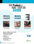 to view this brochure from Laticrete International Inc. - NFMT - Page 6