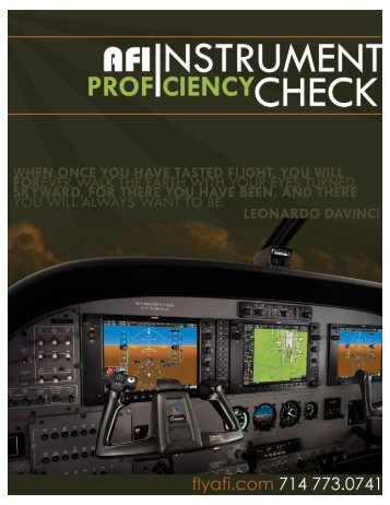 Instrument Proficiency Check - Fly AFI