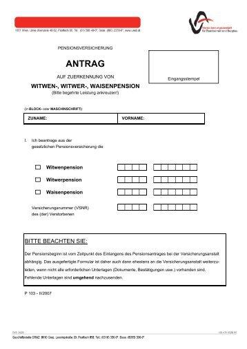 ANTRAG - VAEB
