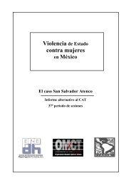 Violencia de Estado contra mujeres en México