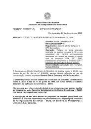 Seae - Conselho Administrativo de Defesa Econômica