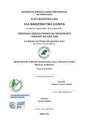 dla nadleśnictwa legnica - Państwowe Gospodarstwo Leśne LASY ...