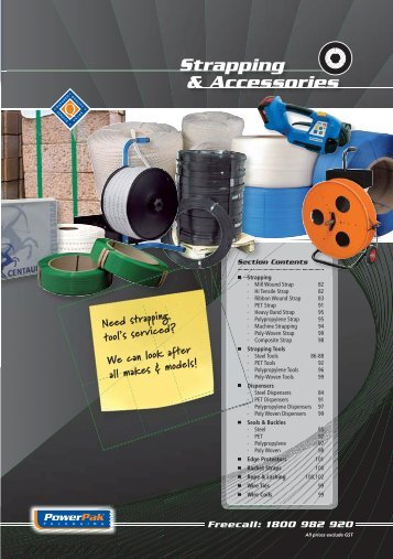 Strapping & Accessories - PowerPak Packaging Supplies