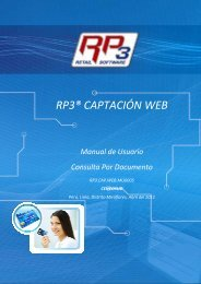 Consulta por Documento - RP3 Retail Software